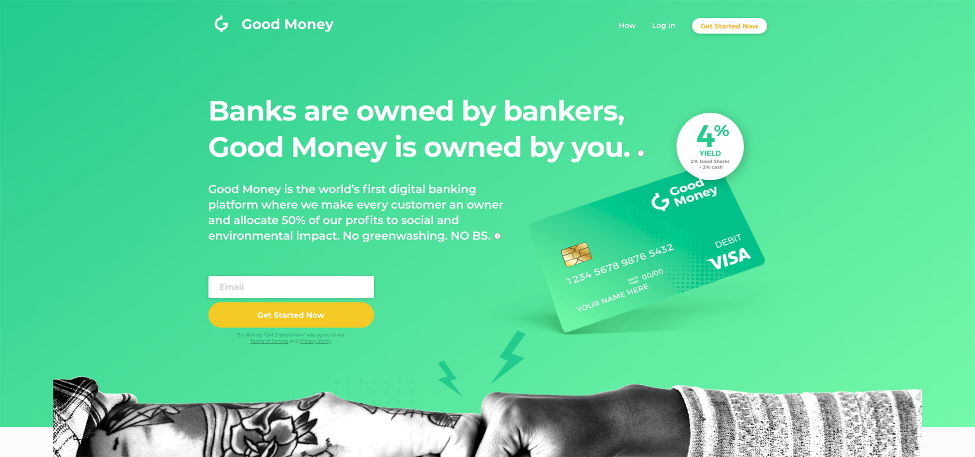 Good Money : A Better Bank Built On The Blockchain